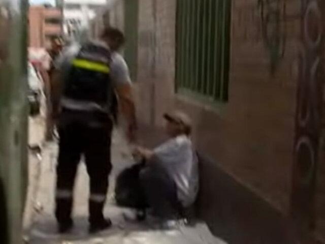 La Victoria: municipio retiró a personas de malvivir que utilizaban calles como refugio
