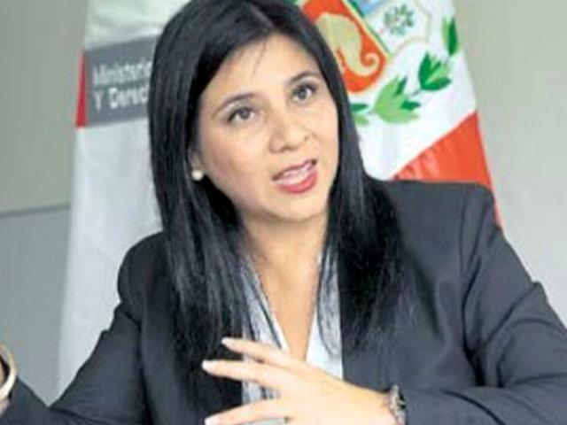 """Silvana Carrión sobre retiro de demanda de Odebrecht: """"Lo pondremos en la negociación"""""""