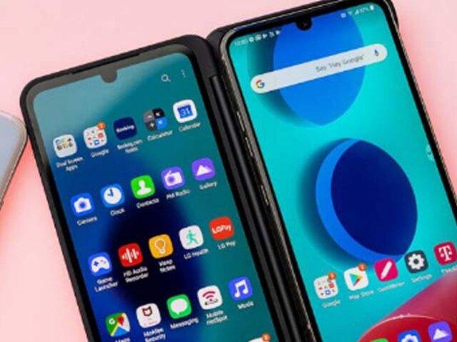 LG lanza su nuevo smartphone con doble pantalla