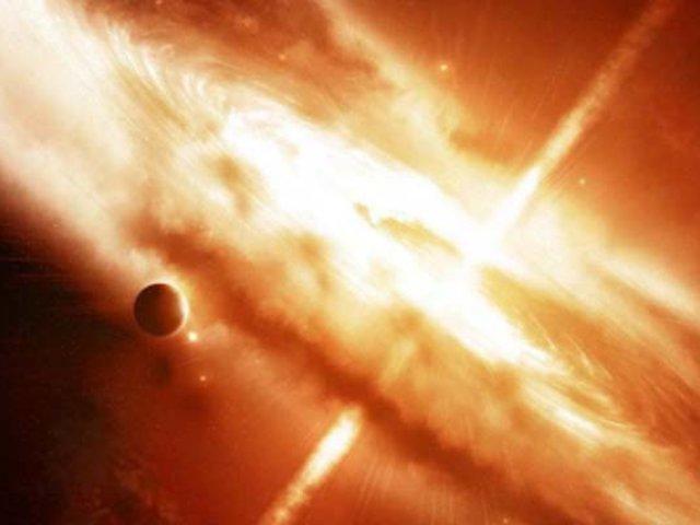 Astrónomos detectan la mayor explosión de la historia del universo