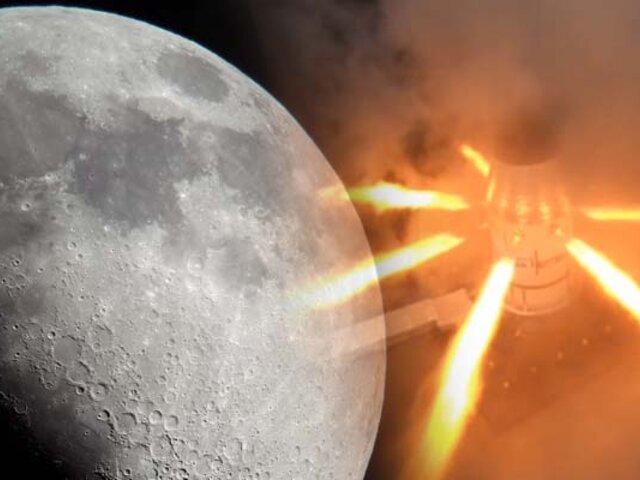 NASA prueba con éxito el motor de la nave que viajará a la Luna