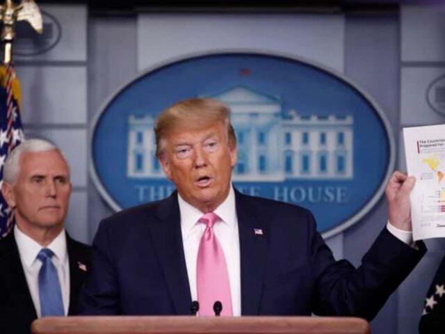 Donald Trump afirmó que EEUU está listo para una expansión del coronavirus