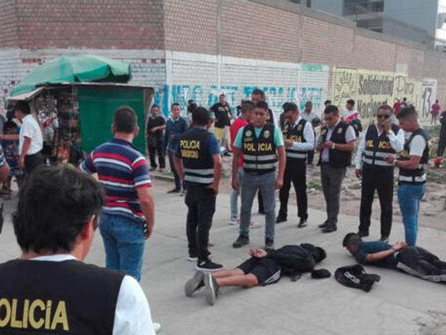 """Capturan a peligrosa banda de marcas """"Los Cabezas de Puente Piedra"""""""