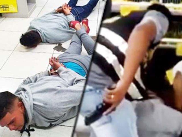 Liberan a delincuentes extranjeros que robaron minimarket en Los Olivos