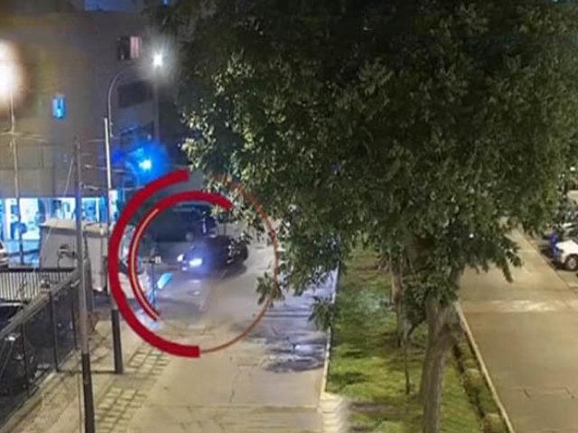 Tras intensa persecución capturan banda de raqueteros en Miraflores