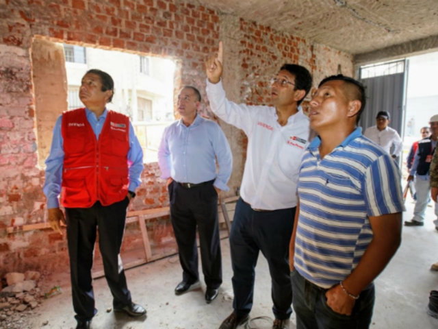Tragedia en VES: comenzará intervención a dos viviendas afectadas tras deflagración