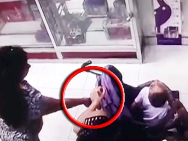 Barrios Altos: ladrona sin corazón roba a mujer que cuidaba a su bebé