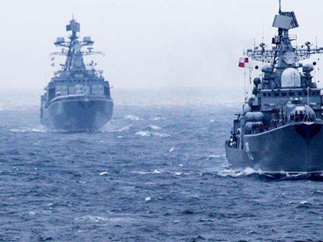 Rusia envía buques de guerra a las costas sirias en plena tensión con Turquía
