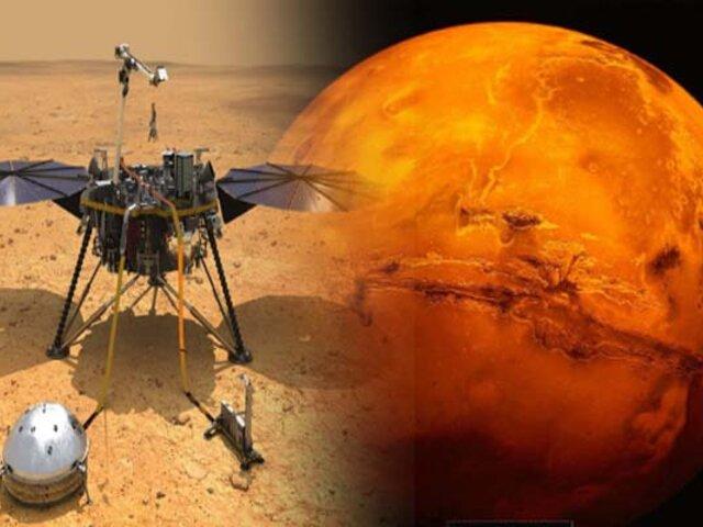 NASA: sonda 'InSight' detecta 174 terremotos en Marte en un año