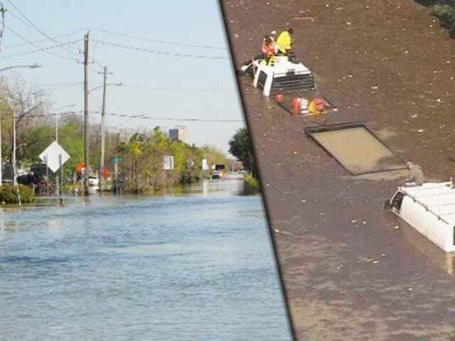 EEUU: ruptura de tubería causa inundaciones en Houston