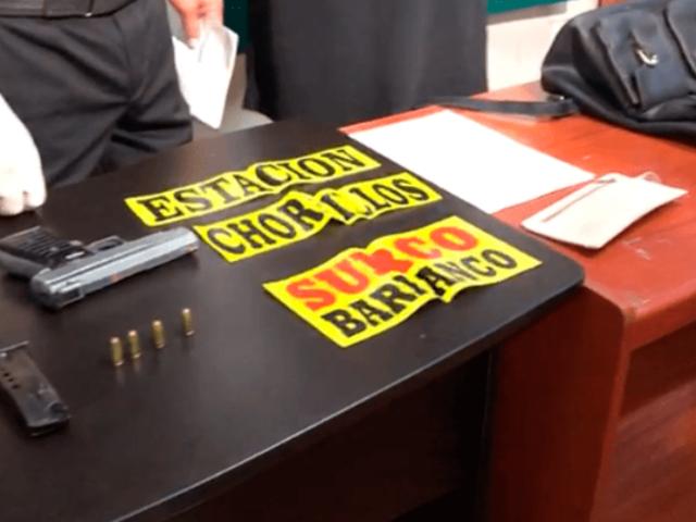 Barranco: falso colectivero será puesto a disposición del Ministerio Público