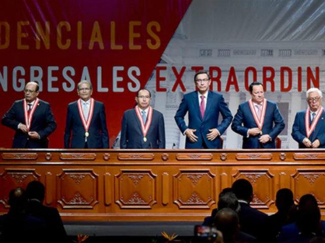 Presidente del JNE exhortó al Congreso a retomar la reforma política y electoral