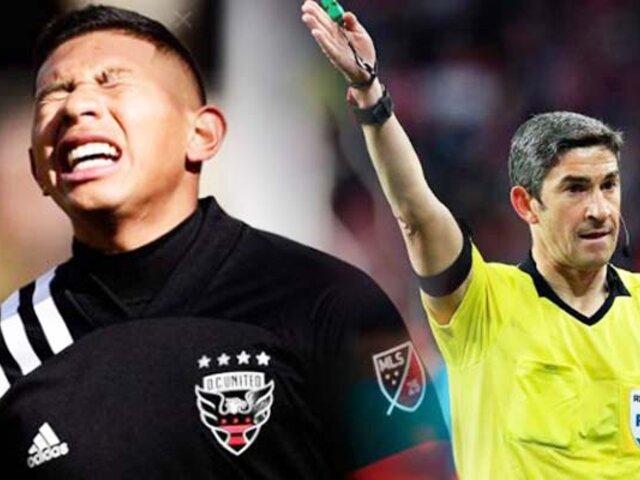 Edison Flores anotó gol en su debut en la MLS pero se lo anularon