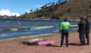 Puno: tres jóvenes mueren ahogados a orillas del lago Titicaca