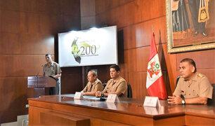 Ejército del Perú presenta logotipo oficial para celebración de su bicentenario