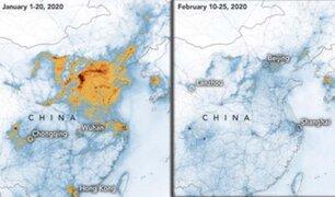 Según la NASA, coronavirus provoca una reducción histórica de la polución en China