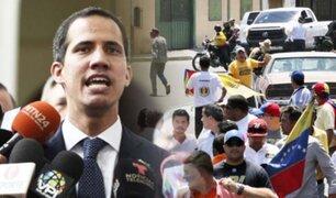 Venezuela: ataque a una concentración de Juan Guaidó deja cinco heridos