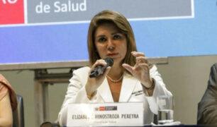 Ministra de Salud descarta cierre de fronteras por avance de coronavirus