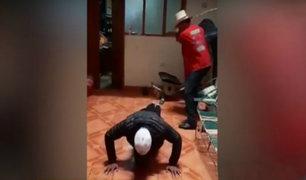Cajamarca: ronderos castigan a hombre por enseñarle a robar a sus hijos