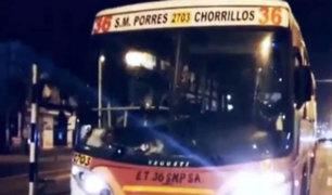 Los Olivos: chofer extranjero arrolla y mata a joven que se negó a pagar 50 céntimos
