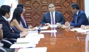 Ministro de Justicia pide no escatimar esfuerzos para esclarecer crímenes contra menores