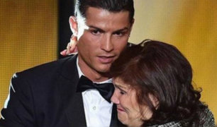 Hospitalizan a madre de Cristiano Ronaldo por un accidente cerebrovascular