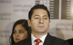 Salvador Heresi renuncia irrevocablemente a su cargo y militancia del partido Contigo