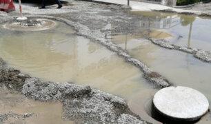 Punta Hermosa: reiterados colapsos de tubería de desagüe preocupa a vecinos
