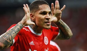 Con doblete y asistencia de Guerrero, Internacional goleó a la U. Católica en Copa Libertadores