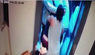 Surco: Madre experta en artes marciales denuncia violencia de vecino en interior de edificio