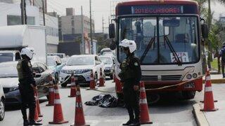 La Molina: hombre muere atropellado por bus del Corredor Rojo en Av. Javier Prado