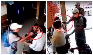 Huacho: ladrones armados asaltan y golpean a clientes de pollería