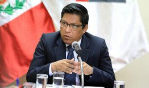 Vicente Zeballos anunció que este año los maestros del país tendrán un aumento remunerativo