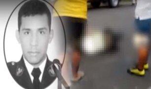 Piura: delincuentes asesinan a policía y dejan otro herido durante intervención