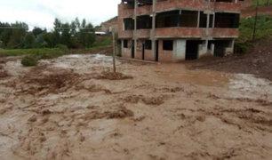 Cusco: varias casas afectadas dejó desembalse de laguna en Poroy
