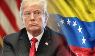 """Donald Trump: """"ayudaremos a Venezuela hasta tener un hemisferio libre"""""""