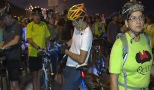 Deportistas protestan por muerte de ciclista atropellado