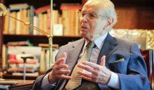 Diplomático peruano Javier Pérez de Cuéllar falleció a los 100 años