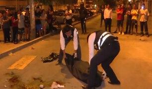 Los Olivos: asesinan a balazos a ciudadano extranjero