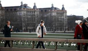 Reino Unido: autoridades confirman primer fallecido por coronavirus