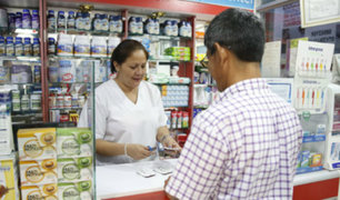 Minsa podrá sancionar a farmacias y boticas que no tengan medicamentos genéricos