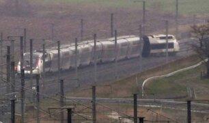Francia: tren se descarrila y deja 22 heridos