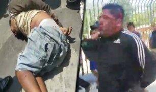 """Trujillo: policía detiene 2 """"marcas"""" luego de arrebatarle cerca de 7 mil dólares a un empresario"""
