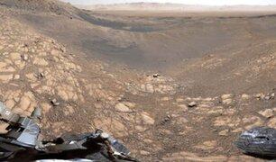 NASA difunde imagen panorámica de más alta resolución de la superficie de Marte