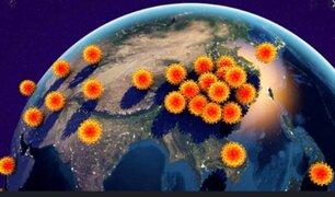 Crisis por el coronavirus se expande por todo el mundo
