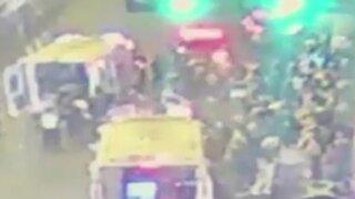 Ate: Madre y dos hijos atropellados por chófer sin licencia