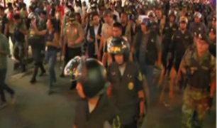 La Victoria: 85 detenidos tras operativo contra el comercio informal