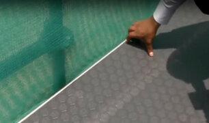 Costa Verde: colocan cobertor antideslizante a rampa donde  ciclista perdió un dedo