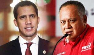 Venezuela: Diosdado Cabello amenaza con la detención del jefe de prensa de Guaidó