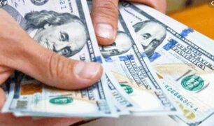 Dólar llegó a más de 3.48 soles, su máximo en cuatro años